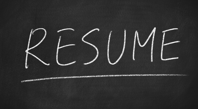 Recruiting Process Resume Template